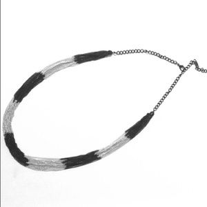 Jewelry - Black and Silver Multi-Strand Necklace